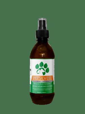 PetSilver Immune Support & Sanitization Spray