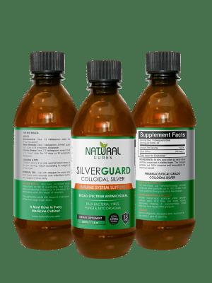SilverGuard Colloidal Silver, 15ppm, 350 ml – 3 pack